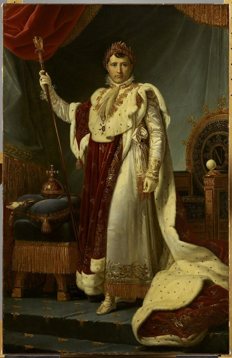 L'Empereur Napoléon Ier en costume de sacre, 1805