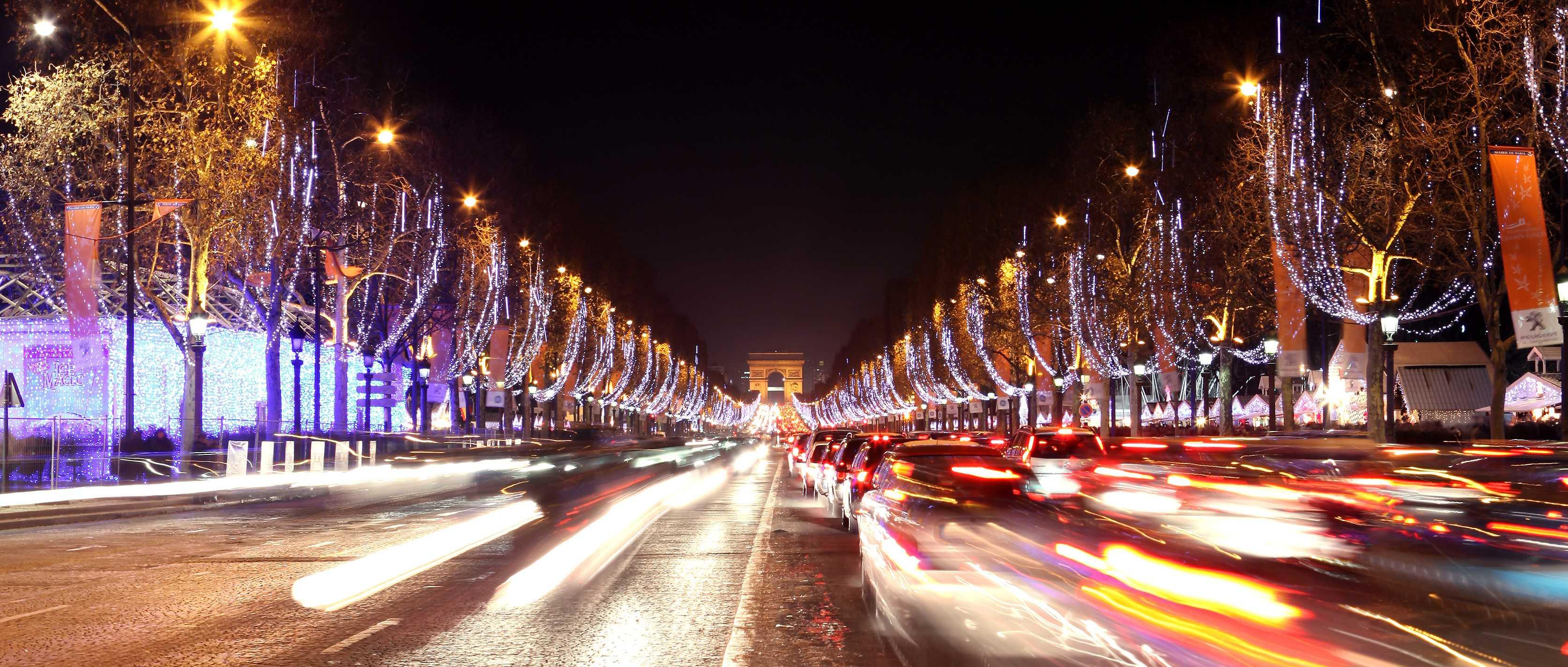 Les Illuminations des Champs Elysées