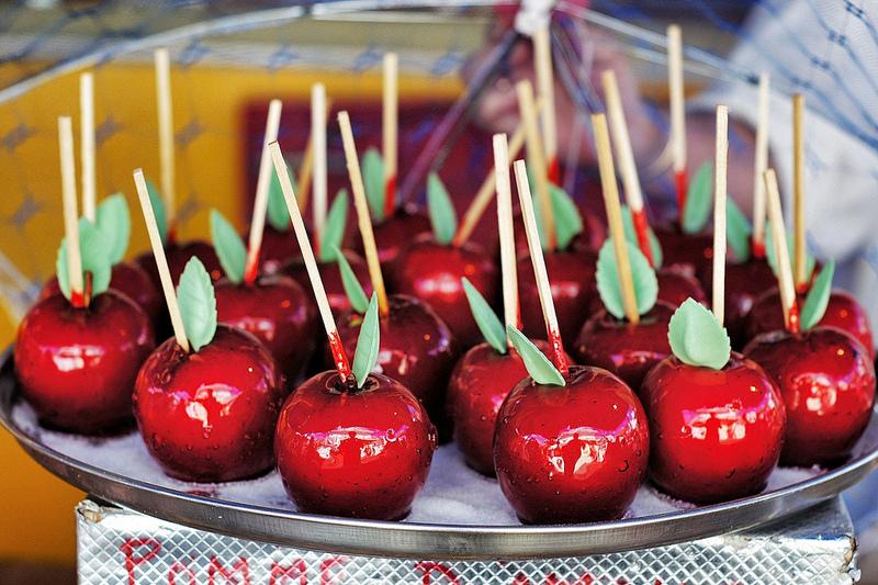 Pommes d'amour fête à neu-neu