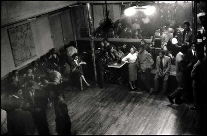 Paris. 1952. Bal Negre.