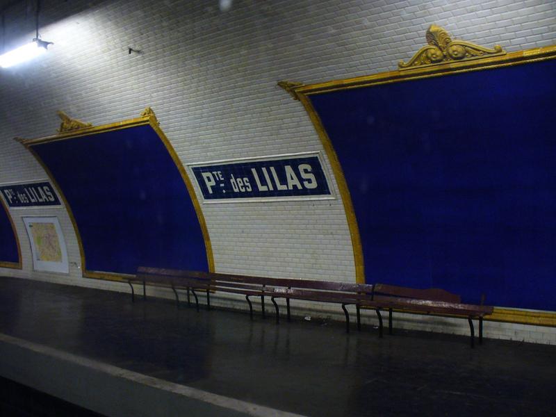 Station de métro Porte des Lilas-Cinéma