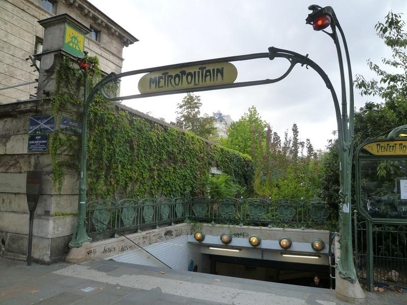 Edicule Guimard Station Denfert-Rocherau