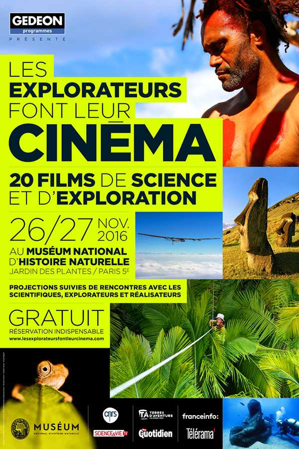 Affiche Les explorateurs font leur cinéma