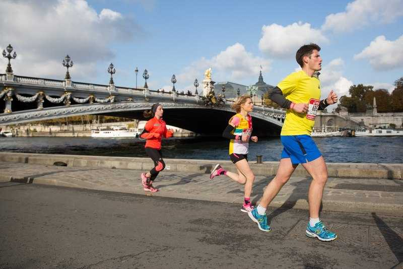 Course Ekiden de Paris