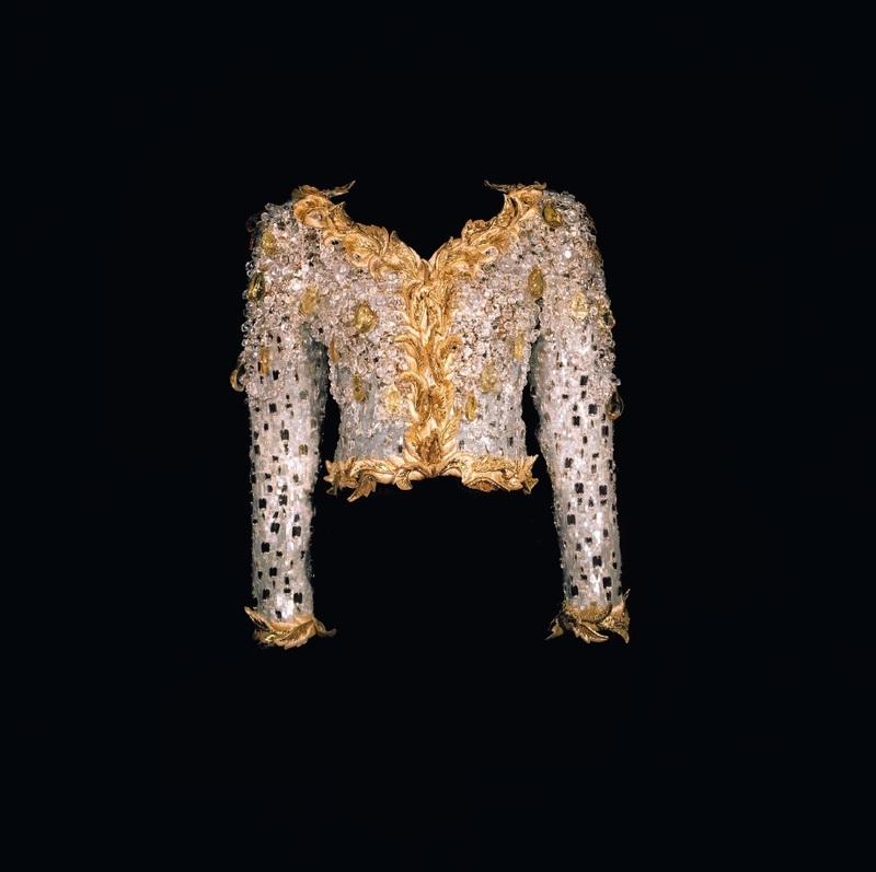"""Veste dite """"Hommage à ma maison"""" Collection haute couture printemps-été 1990"""