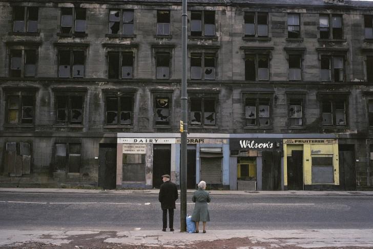 Glasgow, Écosse, 1980