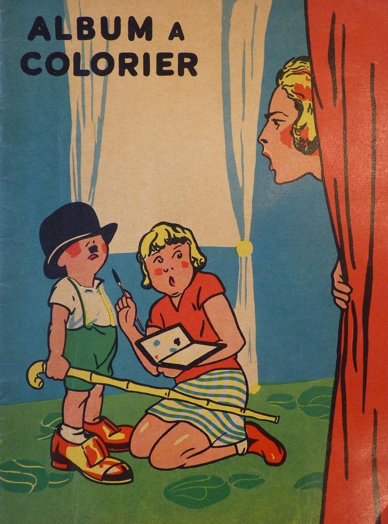 [Matéja]. Album à colorier , [R. Touret], [ca 1930] .