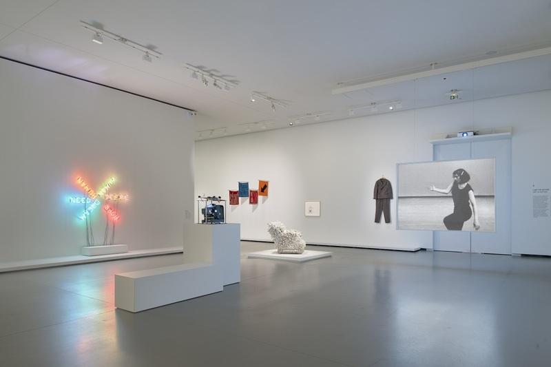 Vue d'installation de l'exposition Être moderne : le MoMA à Paris, galerie 5 (niveau 1), Fondation Louis Vuitton, Paris, du 11 octobre 2017 au 5 mars 2018
