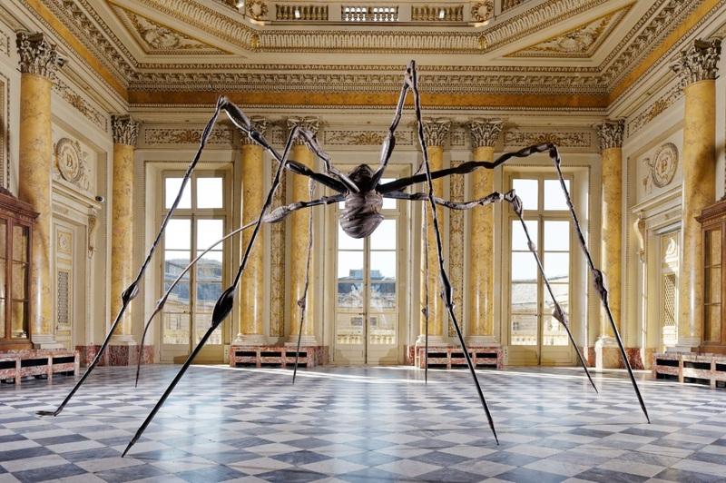 Louise Bourgeois, Spider [Araignée], 1995.  Bronze, acier.