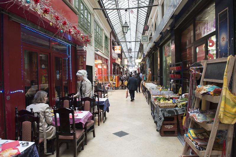 Le passage Brady rassemble de nombreux restaurants et boutiques d'Asie du sud.