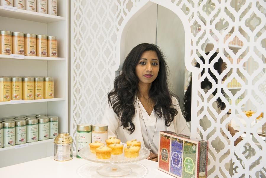 Laëtitia Baron a créé sa boutique de thés indiens près du Passage Brady