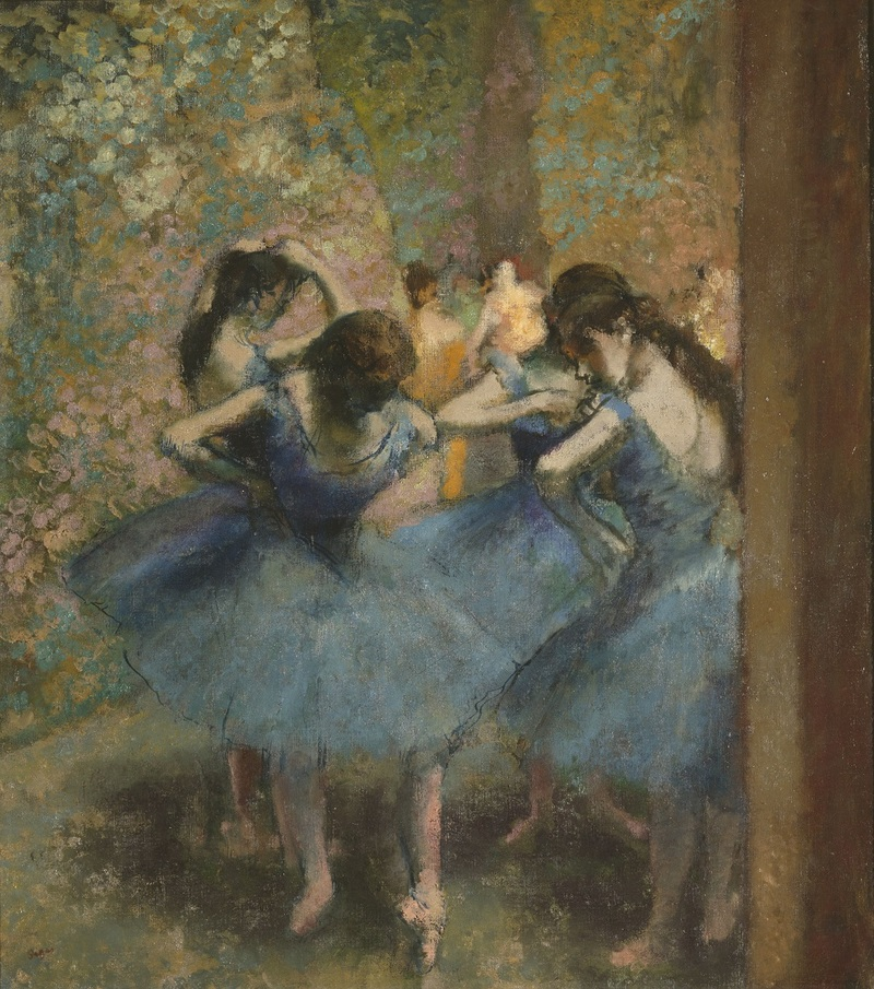 Danseuses bleues, vers 1893