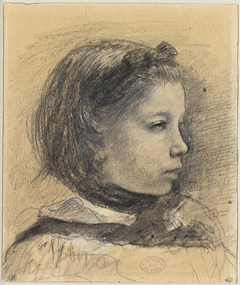 Portrait de Giulia Bellelli, étude pour La Famille Bellelli, entre 1858 et 1869