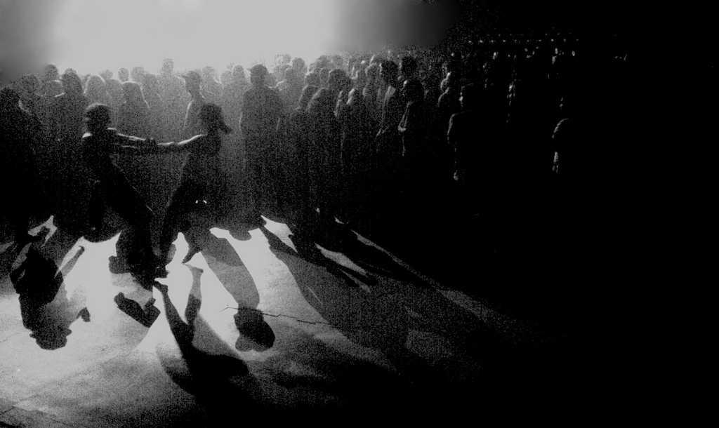 Zombies like to dance too.