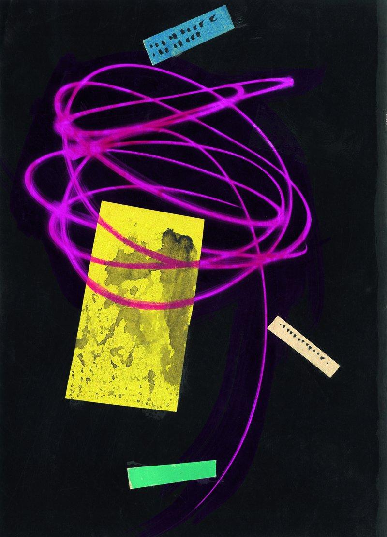 Étude pour l'affiche du film Qui veut dormir? de Zoltan Fabri 1956