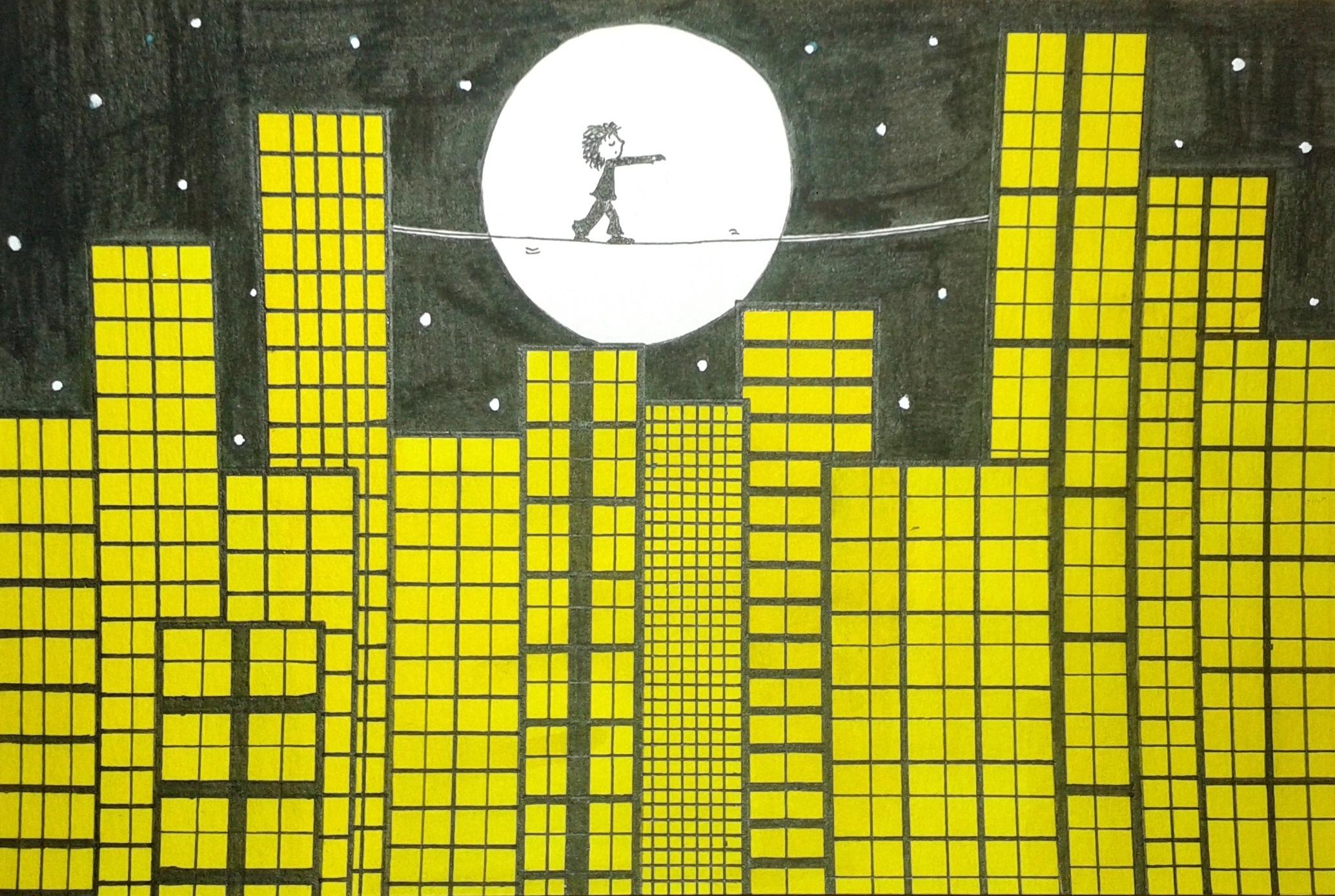 concours de dessin quand vient la nuit que faire paris. Black Bedroom Furniture Sets. Home Design Ideas