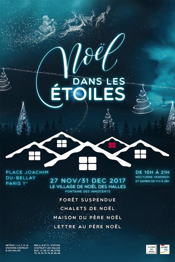 Village de Noël de Paris - Les Halles