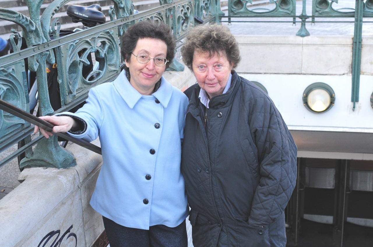 Claude Izner ou les soeurs Laurence Lefèvre et Liliane Korb