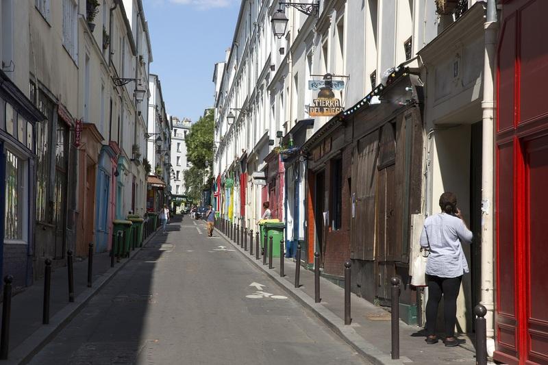 La rue Sainte-Marthe, Paris 10