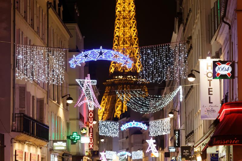 Noël et Tour Eiffel