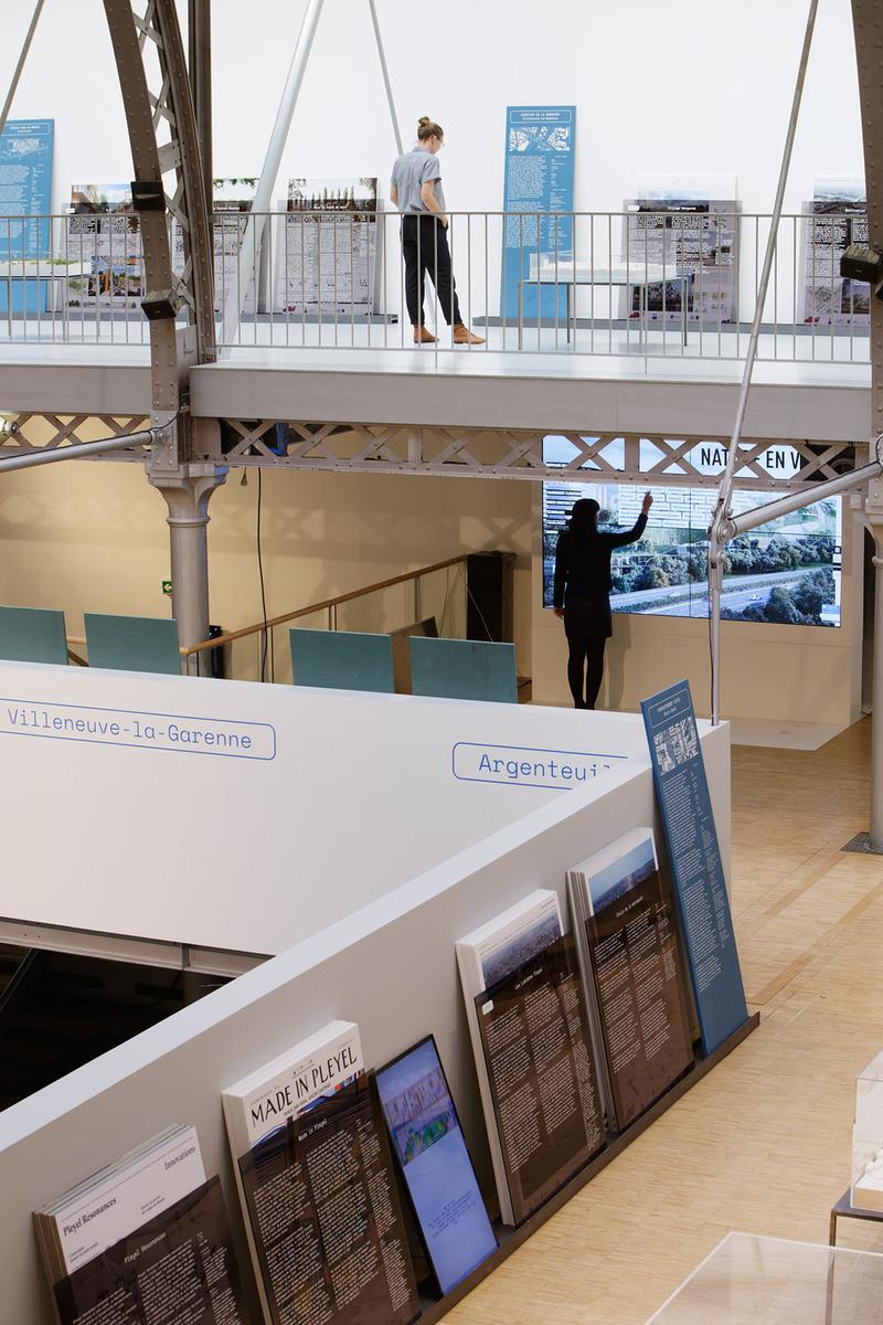 Exposition Inventons la Métropole du Grand Paris, Pavillon de l'Arsenal, 2017