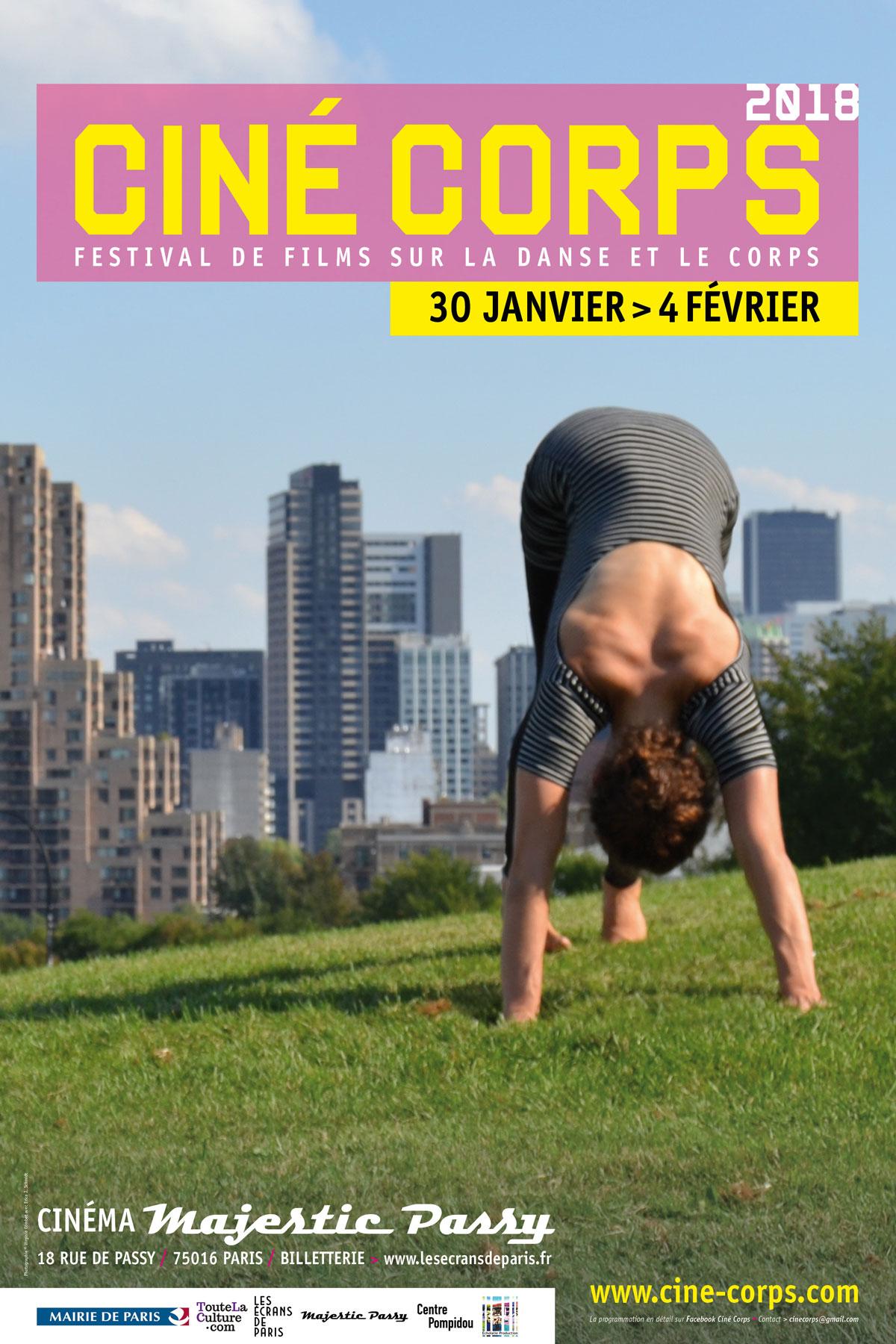 Affiche officielle du festival Ciné-Corps