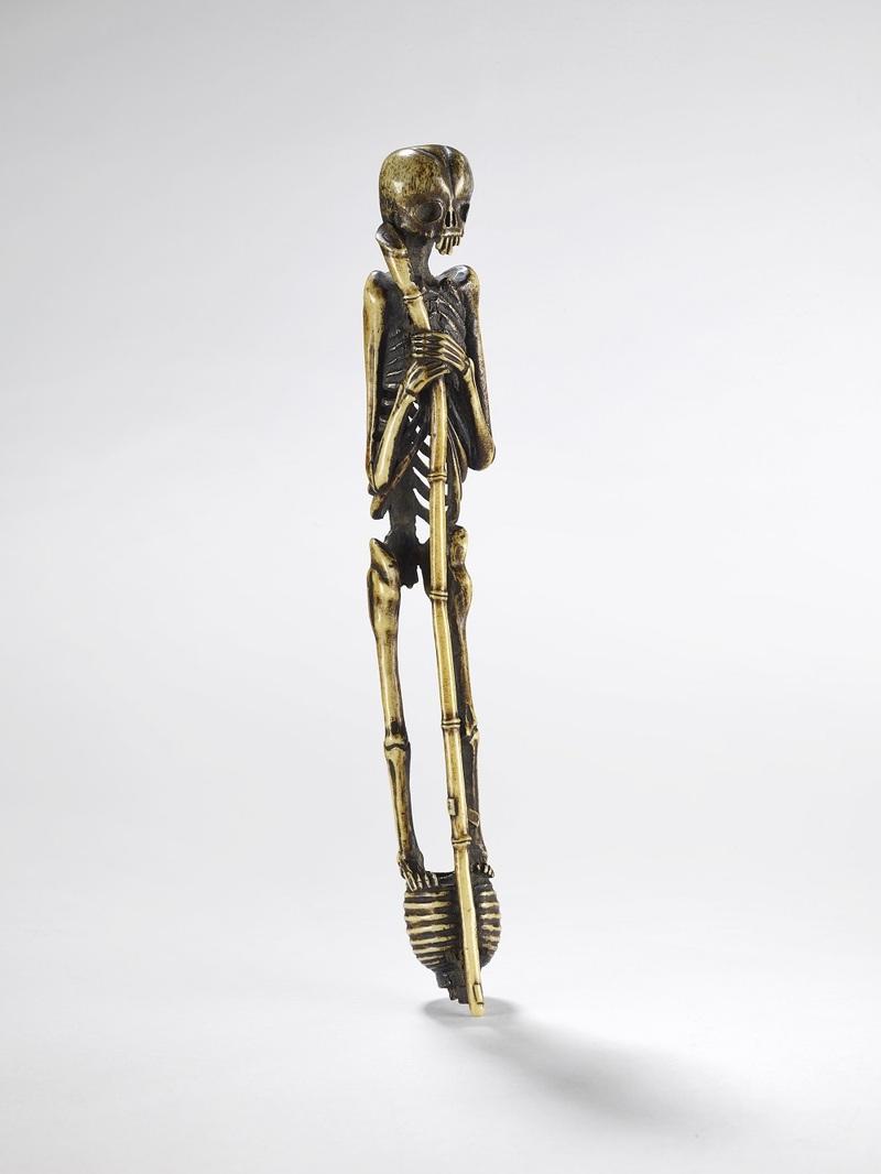 Squelette support de pipe