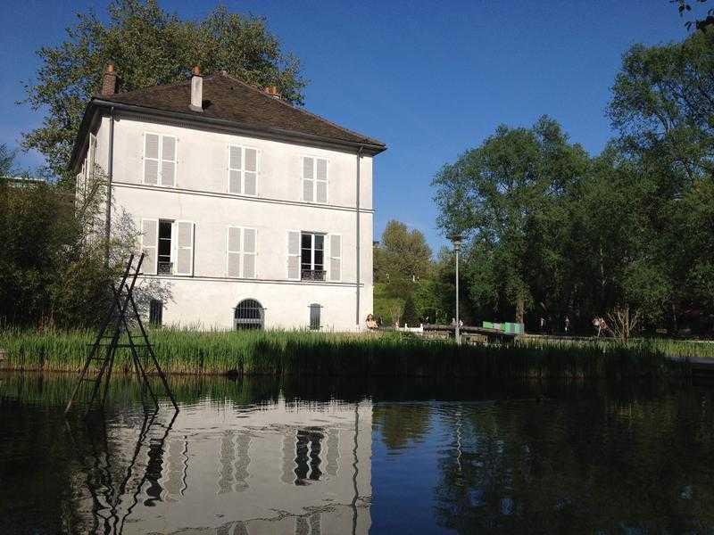 La Maison du Lac du parc de Bercy, ancien poste des gardes de l'entrepôt