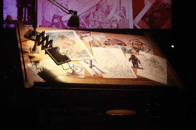 Musée des Arts et Métier, exposition Machines à dessiner, l atable de François Schuiten