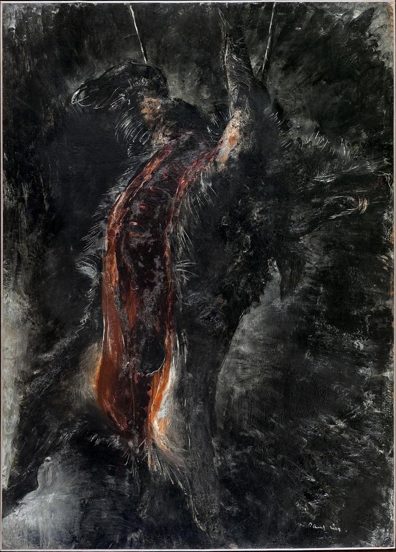 Jean FAUTRIER, Le Grand Sanglier noir, 1926