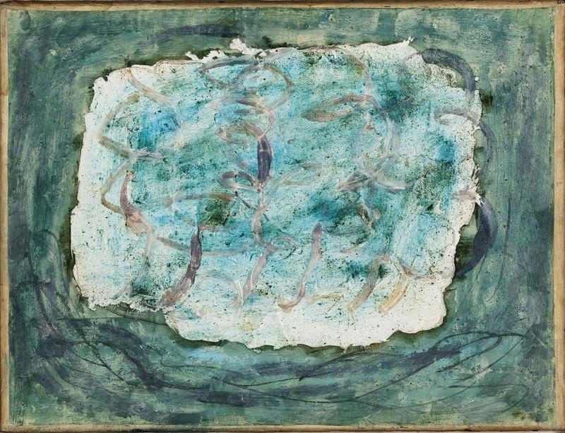 Jean FAUTRIER, Forêt (Les Marronniers), 1943