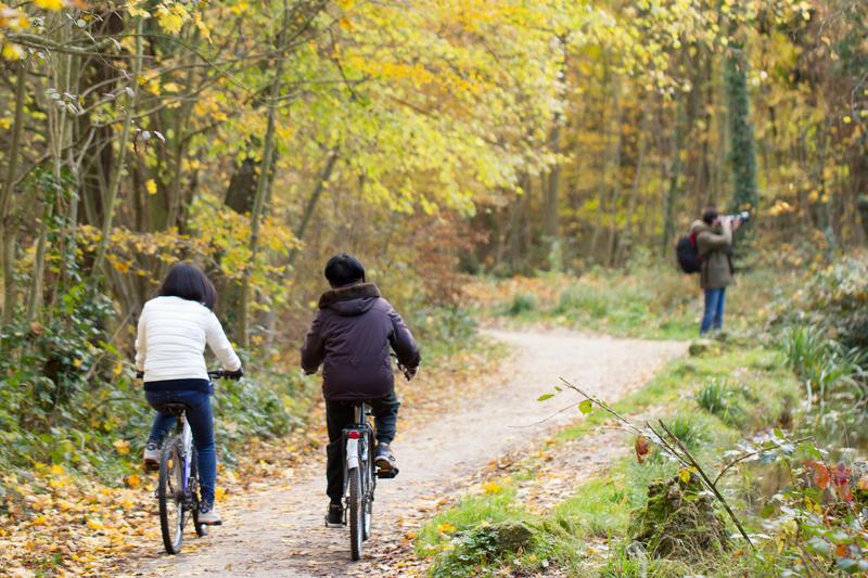 Bois de Vincennes à vélo