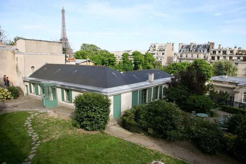Maison de Balzac Jardin