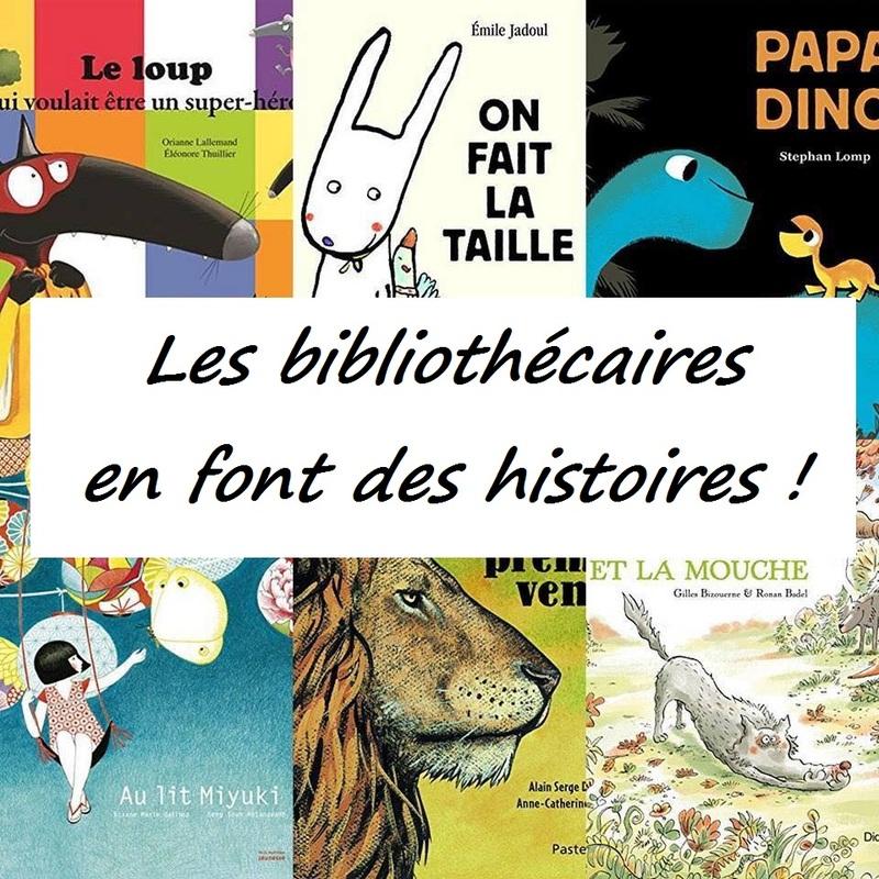 les bibliothécaires ont font des histoires !