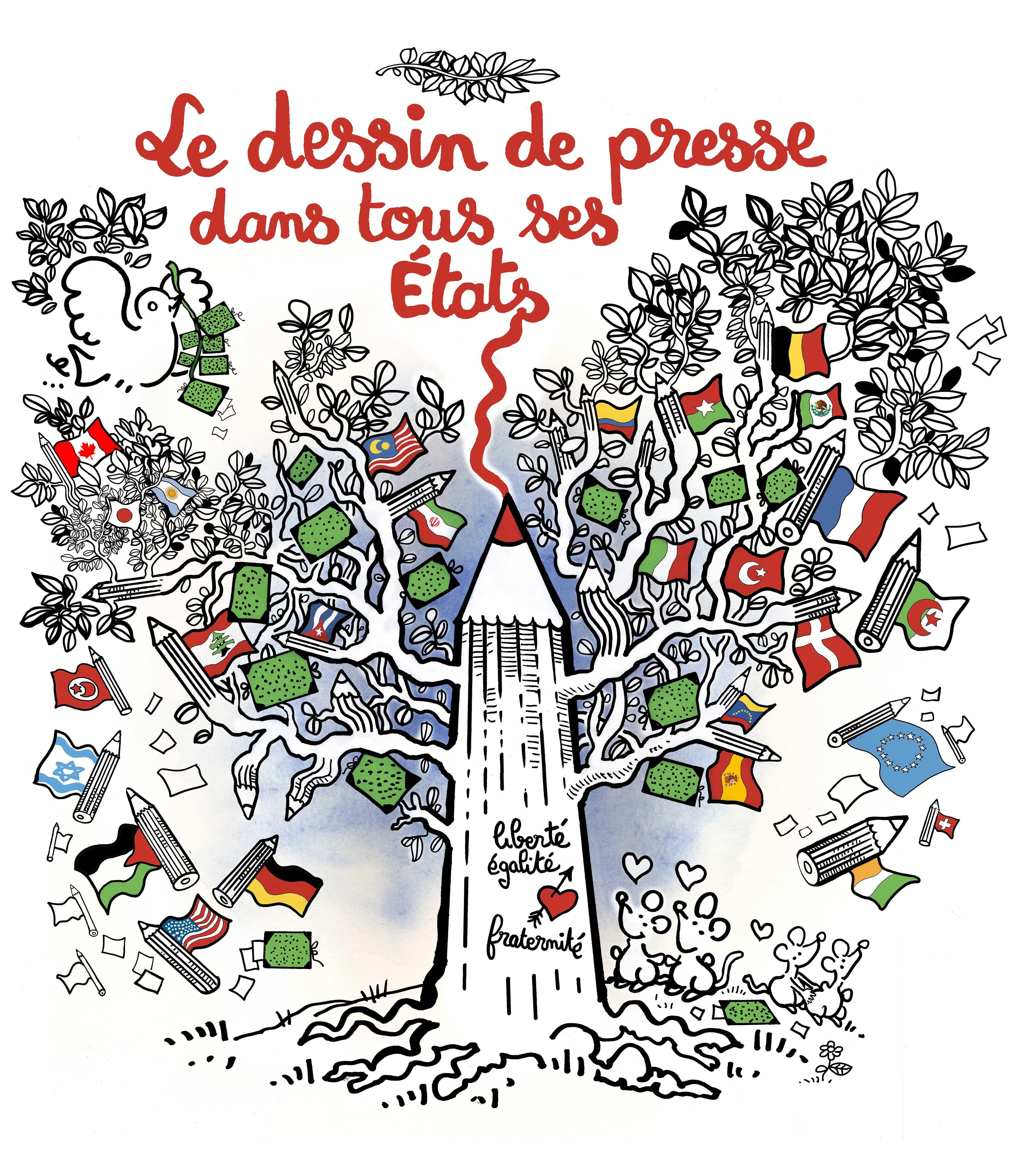 Le dessin de presse dans tous ses tats de cartooning for peace que faire paris - Dessin de tous ...