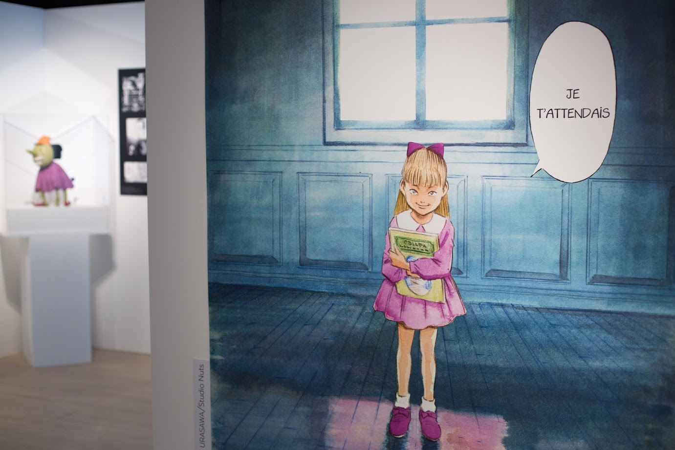 expo L'art de Naoki Urasawa