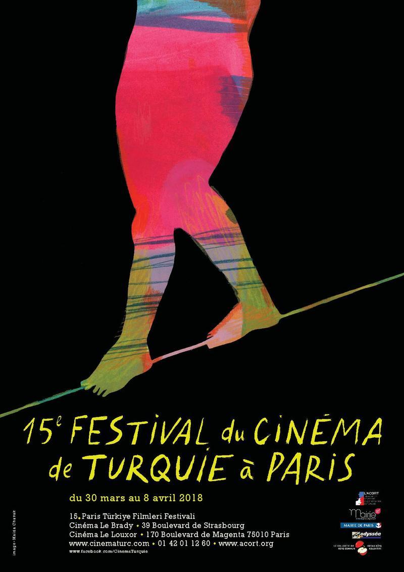 affiche 15eme festival du cinéma de Turquie