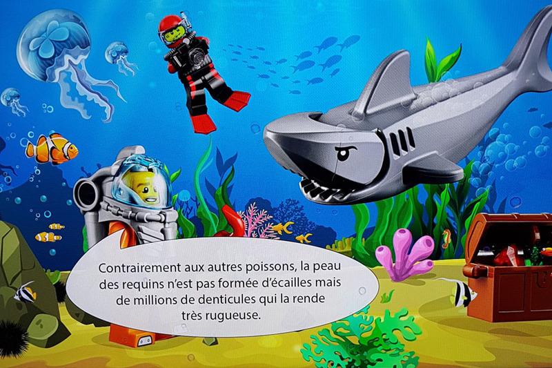 écran Léo à l'Aquarium de Paris