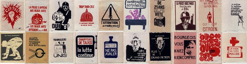 affiches MAI 68