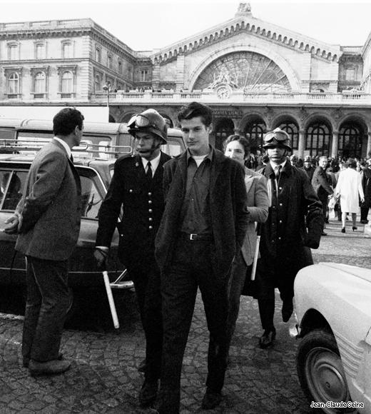 Arrestation devant la gare de l'est, mai 68
