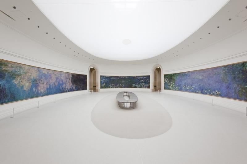 Claude Monet (1840-1926) Les Nymphéas, salle 1 Musée de l'Orangerie