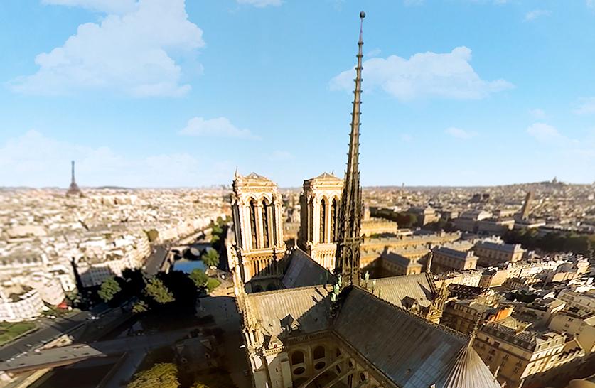 Vue de Notre Dame