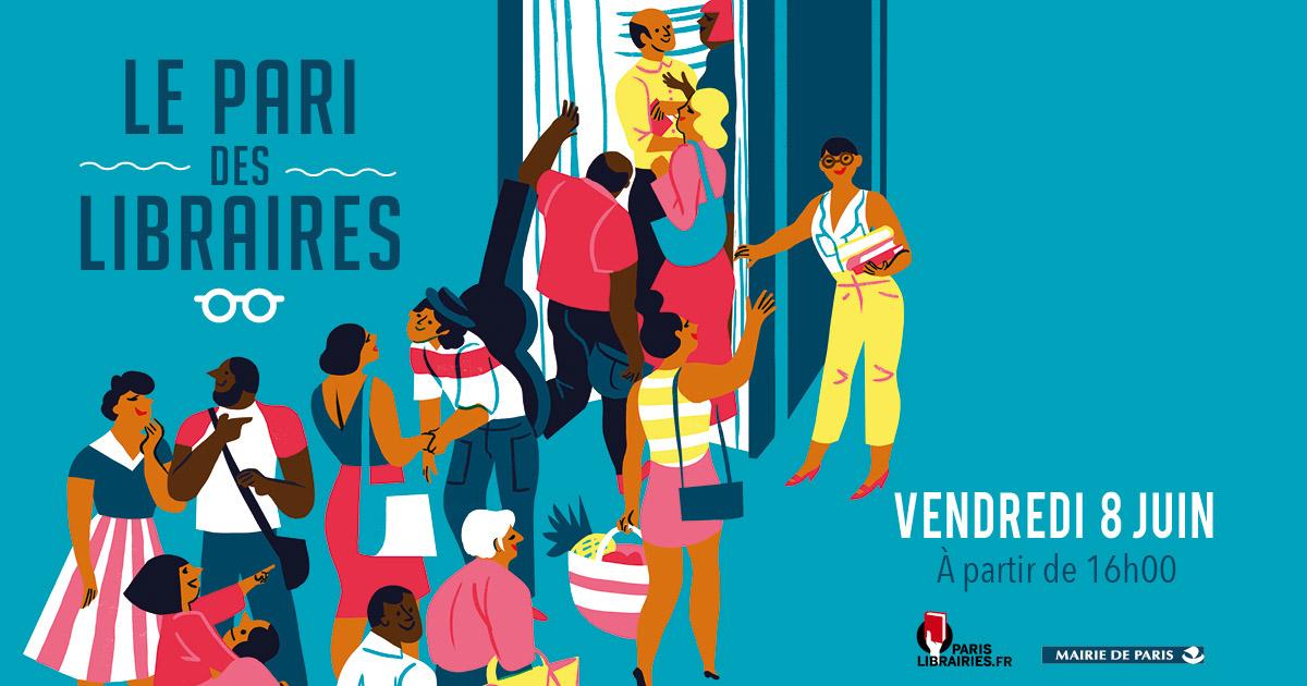 Nouvelle édition de la fête de la librairie parisienne indépendante