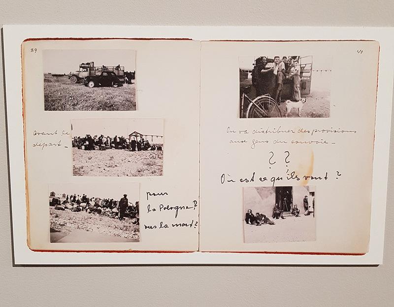 Vues du camp de Rivesaltes et portraits d'internés