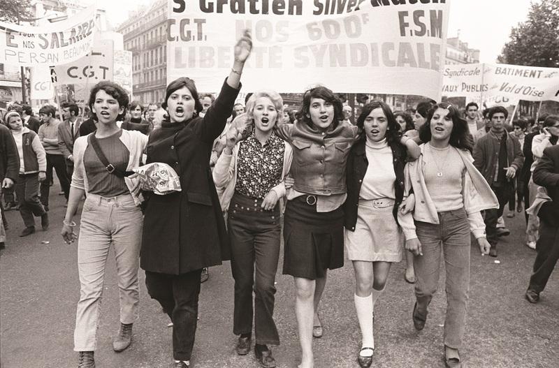 Manifestation, Paris, mai 1968