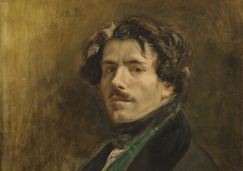 Autoportrait au gilet vert