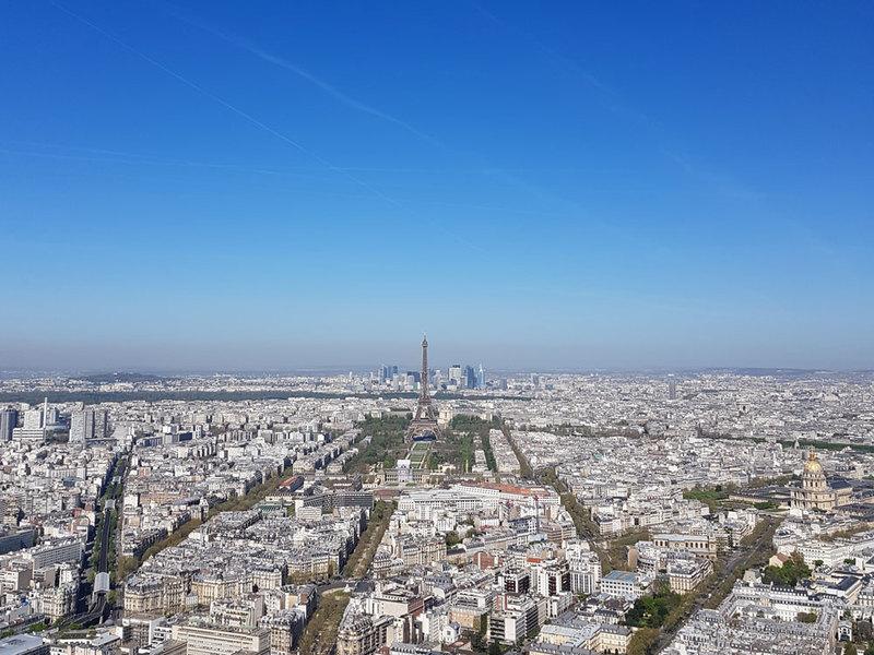 Vue depuis la Tour Montparnasse