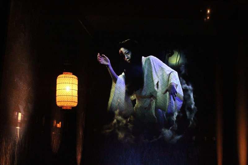 """Vue de l'exposition temporaire : """"Enfers et fantômes"""