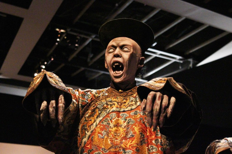 Un revenant plutôt énervé, pas encore calmé par un prêtre taoïste