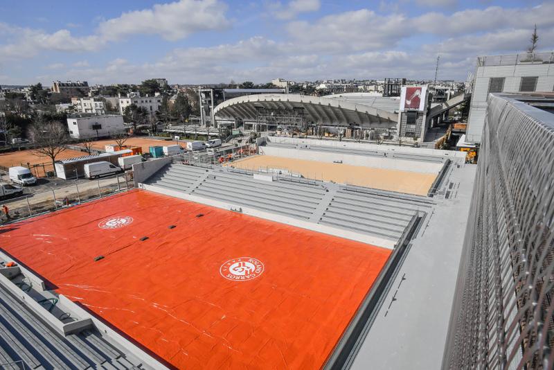 nouveau court Roland Garros